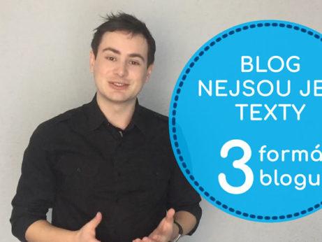 Zapojte do svého blogování všechny 3 formáty - Daniel Križák