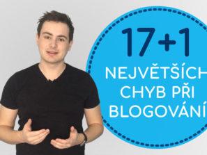 18 nejčastějších chyb na blogu - Daniel Križák