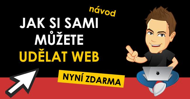 Jak si sami můžete udělat web